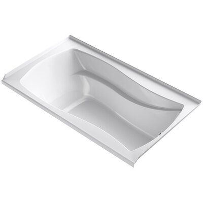Mariposa 66 x 36 Air Bathtub Finish: White, Drain Location: Right
