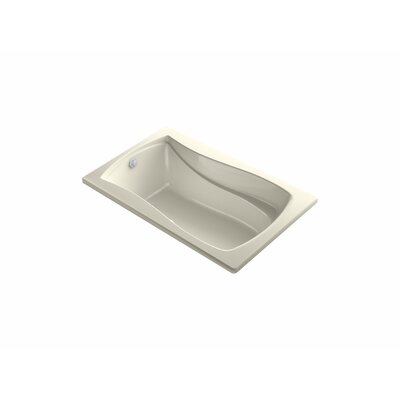 Mariposa Bubblemassage 60 x 36 Soaking Bathtub Finish: Almond
