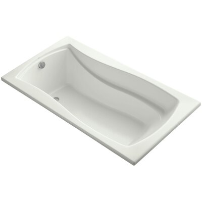 Mariposa Vibracoustic 66 x 36 Soaking Bathtub Finish: Dune