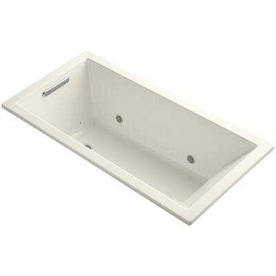 Underscore 60 x 30 Air Bathtub Finish: Biscuit