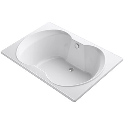 Overture 60 x 42 Soaking Bathtub Finish: White