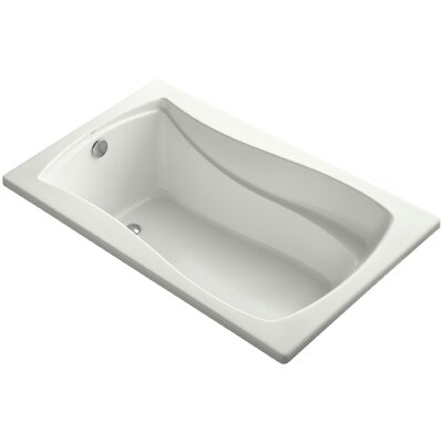 Mariposa Vibracoustic 60 x 36 Soaking Bathtub Finish: Dune