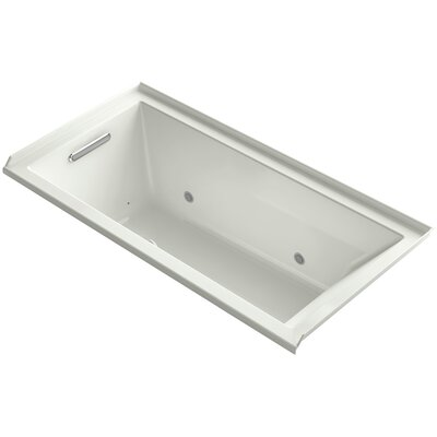 Underscore 60 x 30 Air Bathtub Finish: Dune, Drain Location: Left