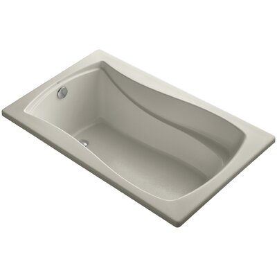 Mariposa 60 x 36 Soaking Bathtub Finish: Sandbar