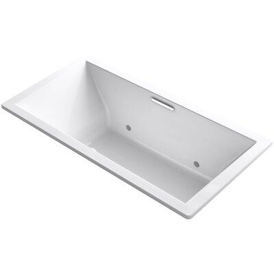 Underscore 72 x 36 Air Bathtub Finish: White