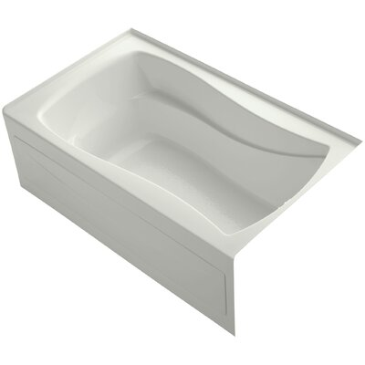 Mariposa 60 x 36 Soaking Bathtub Finish: Dune, Drain Location: Right