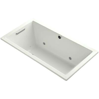 Underscore 60 x 32 Air Bathtub Finish: Dune