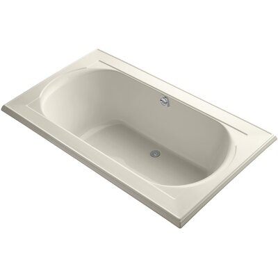 Memoirs Vibracoustic 72 x 42 Soaking Bathtub Finish: Almond