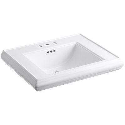 Memoirs 9 Wall Mount Bathroom Sink Finish: White