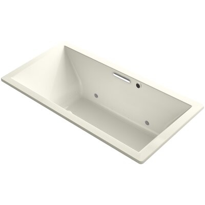 Underscore 72 x 36 Air Bathtub Finish: Biscuit