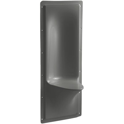 Echelon Shower Seat Finish: Thunder Grey