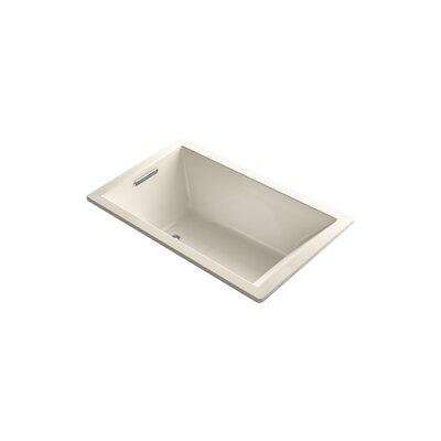 Underscore 60 x 36 Soaking Bathtub Finish: Almond