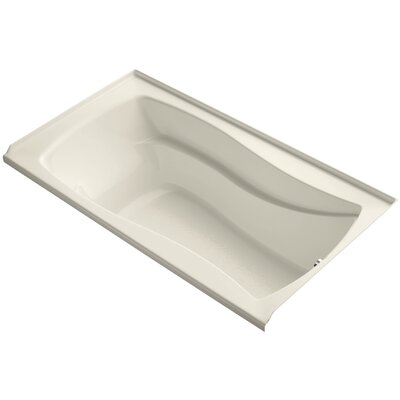 Mariposa 66 x 36 Soaking Bathtub Finish: Almond, Drain Location: Right