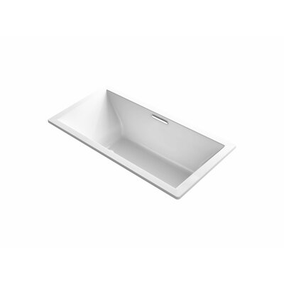 Underscore 72 x 36 Air Bathtub Finish: White