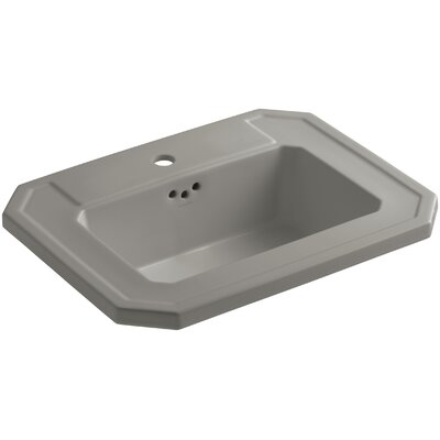 Kathryn Self Rimming Bathroom Sink Finish: Cashmere