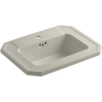 Kathryn Self Rimming Bathroom Sink Finish: Sandbar