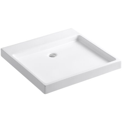 Purist Wading Pool 24 Wall Mounted Bathroom Sink Finish: White