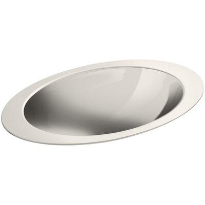 Rhythm Metal Oval Drop-In Bathroom Sink Sink Finish: Mirror
