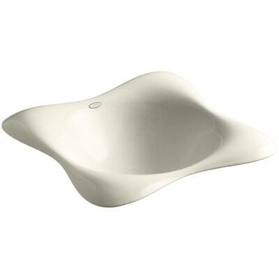Dolce Vita Self Rimming Bathroom Sink Finish: Cane Sugar