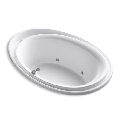 Purist 72 x 46 Air Bathtub Finish: White