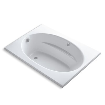 Windward 60 x 42 Air Bathtub Finish: White