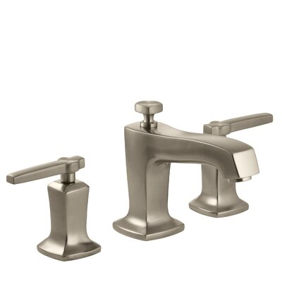 Margaux Widespread Bathroom Sink Faucet with Lever Handles Finish: Vibrant Brushed Bronze