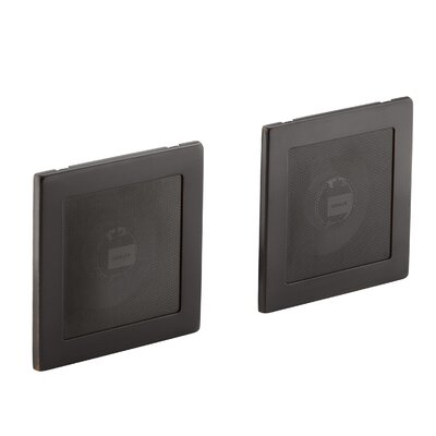 Soundtile Speakers (Pair Of Speakers) Finish: Oil Rubbed Bronze