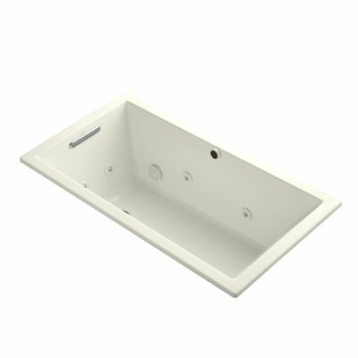 Underscore 60 x 32  Whirpool Bathtub Finish: Biscuit