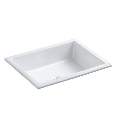 Kathryn Under-Mount Bar Sink Finish: White