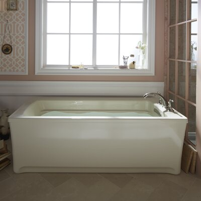 Archer 68 x 32 Soaking Bathtub Finish: White