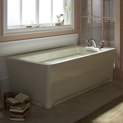 Archer 68 x 32 Soaking Bathtub Finish: Sandbar
