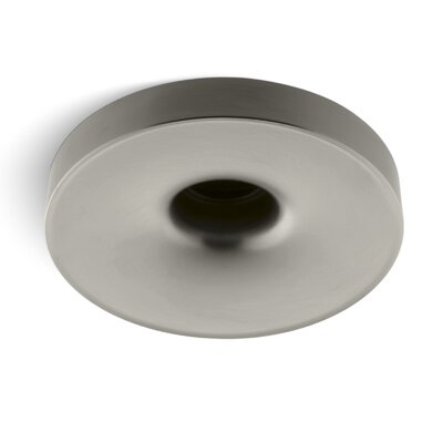 Laminar Wall- or Ceiling-Mount Bath Filler with Orifice Finish: Vibrant Brushed Nickel