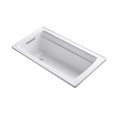 Archer 60 x 32 Soaking Bathtub Finish: White