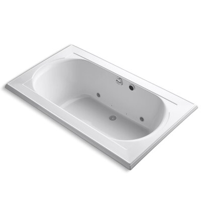 Memoirs 72 x 42 Air Bathtub Finish: White