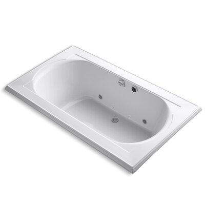 Memoirs 72 x 42 Air Bathtub Finish: White