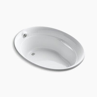 Serif 60 x 43 Soaking Bathtub Finish: White