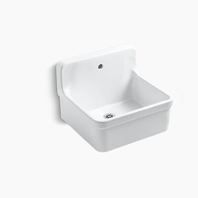 Gilford 24 x 22.13 Single Bracket-Mounted Scrub-Up/Plaster Sink