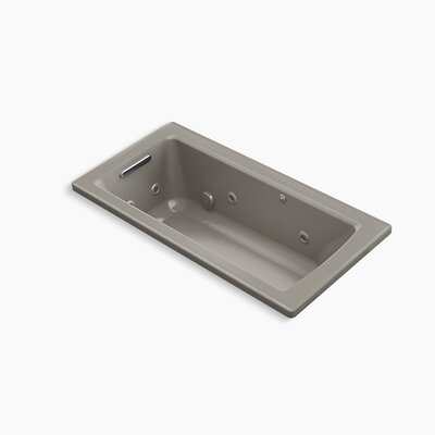 Archer Drop-in Whirlpool with Bask Heated Surface Finish: Cashmere