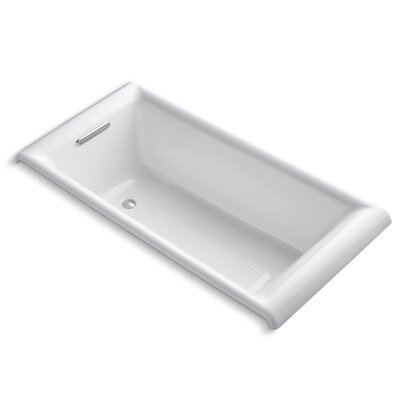 Parigi 66 x 32 Soaking Bathtub Finish: White