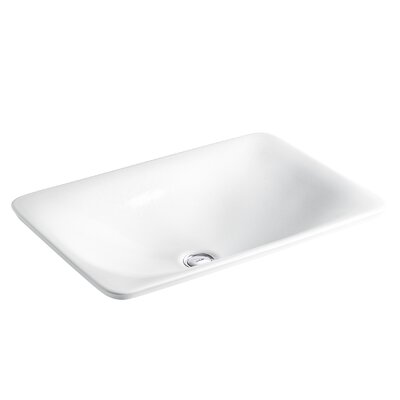 Sartorial Wading Pool� Rectangular Vessel Bathroom Sink