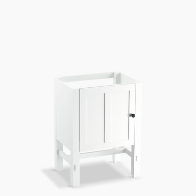 Tresham 24 Bathroom Vanity Base Base Finish: Linen White