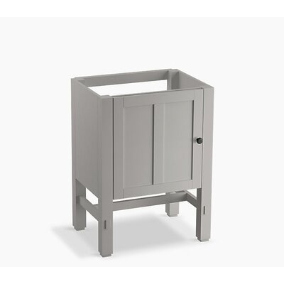 Tresham 24 Bathroom Vanity Base Base Finish: Mohair Gray