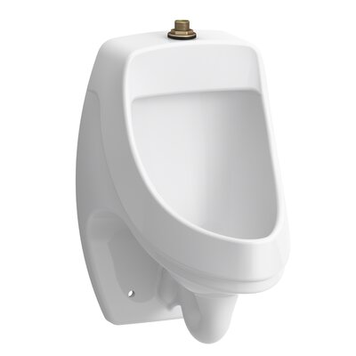 Dexter Washout Wall-Mount 0.125 GPF Urinal with Top Spud K-5452-ET-0