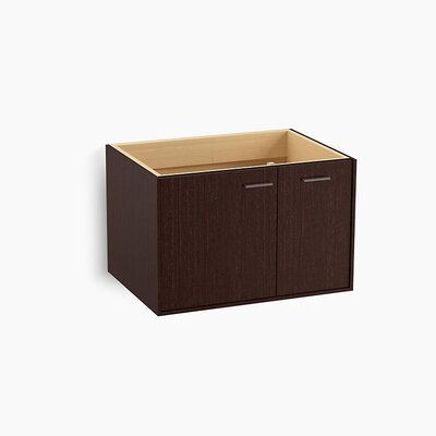 Jute� 30 Vanity with 1 Door and 1 Drawer on Right Base Finish: Laurentii Silk