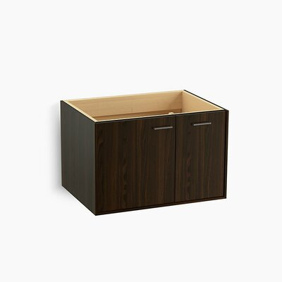 Jute� 30 Vanity with 1 Door and 1 Drawer on Right Base Finish: Jersey Oak