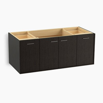 Jute� 48 Vanity with 2 Doors and 2 Drawers Base Finish: Satin Oak