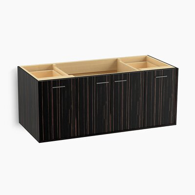 Jute� 48 Vanity with 2 Doors and 2 Drawers Base Finish: Ebony Velour