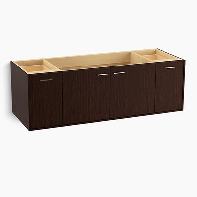 Jute� 60 Vanity with 2 Doors and 2 Drawers Finish: Laurentii Silk