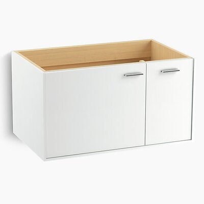 Jute� 36 Vanity with 1 Door and 1 Drawer on Right Base Finish: Linen White