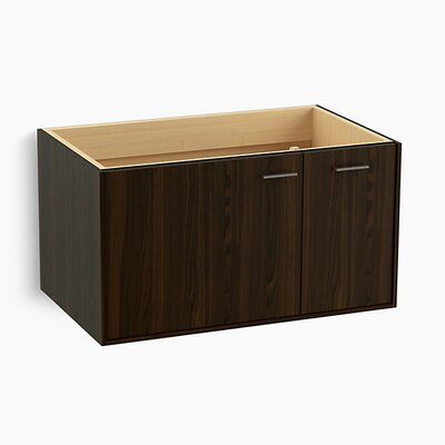 Jute� 36 Vanity with 1 Door and 1 Drawer on Right Base Finish: Jersey Oak